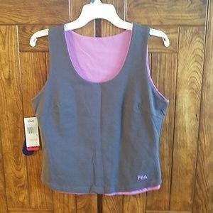 Fila Tops - Fila active wear reversible tank top